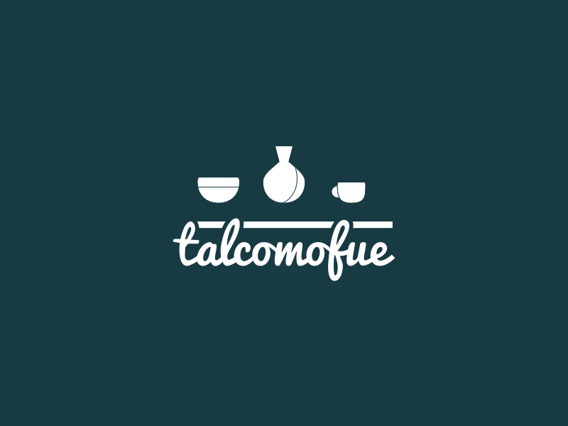 Logo talcomofue pottery ceramic logo crafts