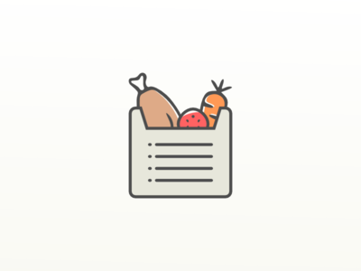 Icon Shopping list