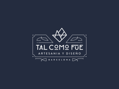 Art Déco Logo for TAL COMO FUE