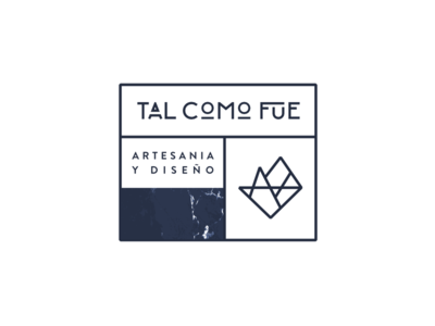 Another version of TAL COMO FUE's logo