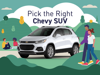 Chevy SUV Picker interactive photo illustration combination nature quiz outdoors environment character design illustration photo vehicle