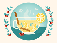Holiday Lemon Tea