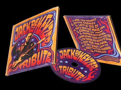 Jack De Keyzer Album Art handlettering custom lettering lettering type poster design fillmore poster psychedelic 70s fillmore