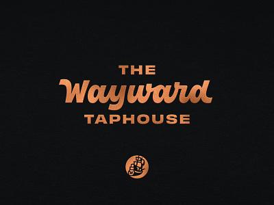The Wayward Branding script handlettering lettering identity logo logotype