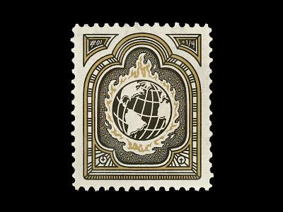 𝔇𝔢𝔞𝔱𝔥𝔴𝔦𝔰𝔥 NFT — 01/04 missal cryptoart nft art illustration stamp design stamp
