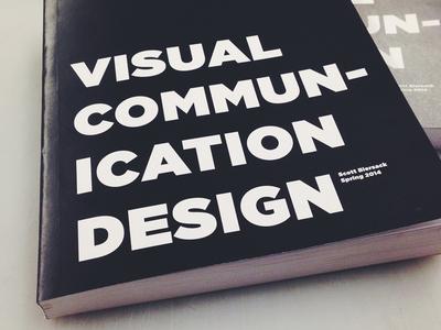 Vis Comm Program Book