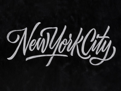 Nyc Brush Script By Scott Biersack Dribbble