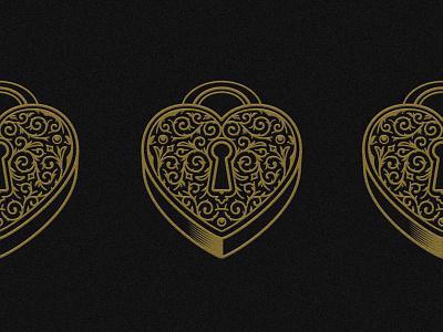 Soulitude filigree heart locket illustration
