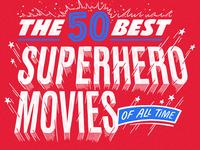 The 50 Best Superhero Movies