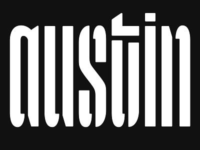 Austin Lettering logotype design workshop atx austin logotype stencil lettering typography type