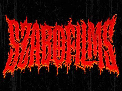 Szabo Films Metal Logo metal band metal logo handlettering lettering typography type