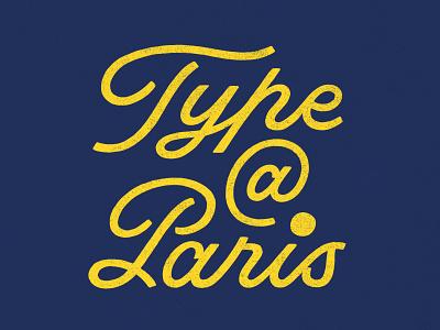 TypeParis19 script lettering script typeparis19 lettering type