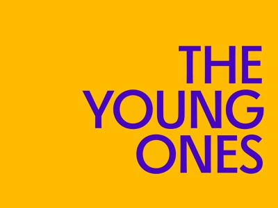 The Young Ones Logotype branding theyoungones glyphs font logotype design logotype lettering typography type