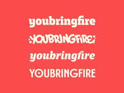 youbringfire logotypes