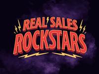 Real Sales Rockstars Logotype