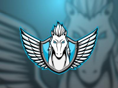 Pegasus pegasus adobe mascot design mascot logo mascot graphic design character illustrator vector logo illustration design