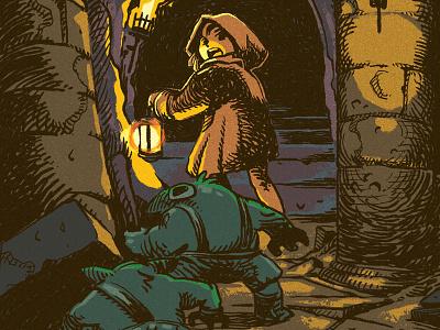 Goblins! illustration art