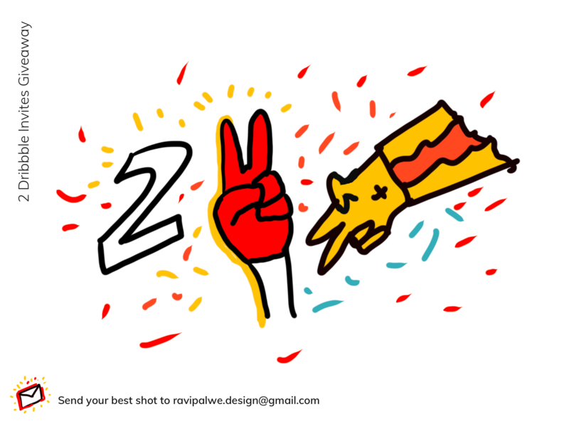 2 Dribbble Invites Giveaway insuretech instagram post illustration insurance interaction design branding ux design ux design thinking 2invites invite
