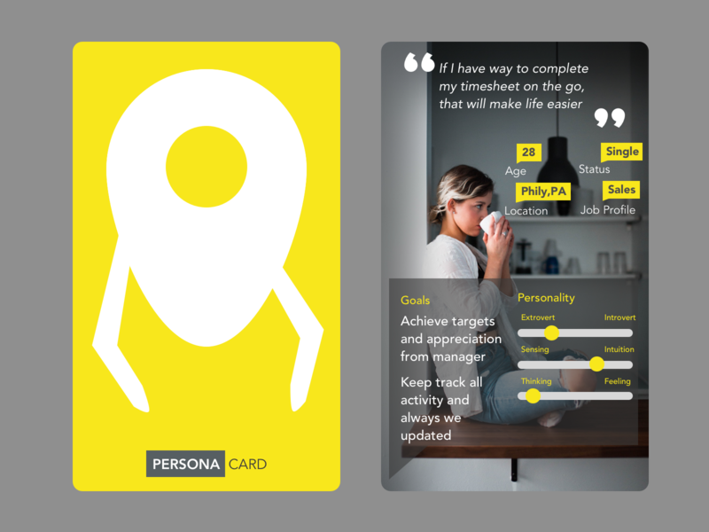 Persona Card Concept insuretech insurance insights research userresearch productdesign trends designsprint design thinking persona ux process ux ux design