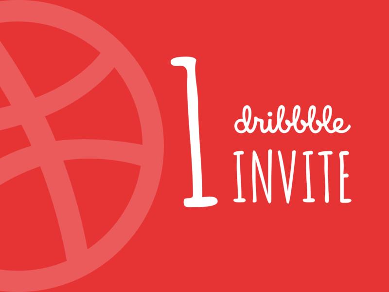 1 Dribbble Invite Giveaway giveaway invitegiveaway ux design ux  ui invite2 invite