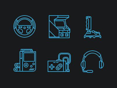Jeux Vidéos icon illustration video game