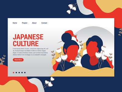 Landing Page Japanese Culture