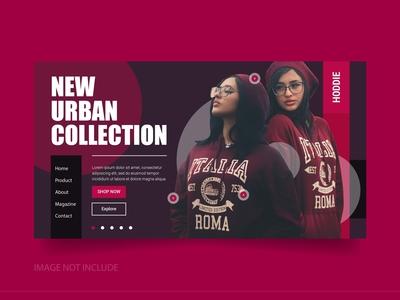 Purple Online Shop Landing Page