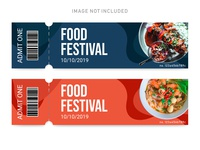Food Festival Tickets Template