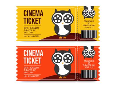 Cinema Tickets Template