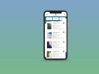 RatingApp Mobile design app ux ui