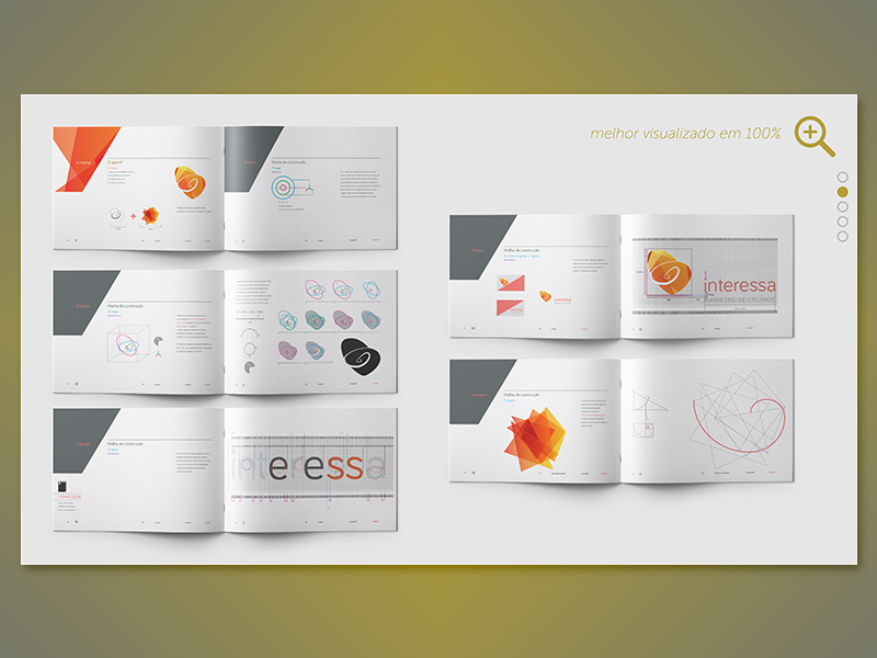 Interessa | Brand Utility Agency | 04 presentation stationary image manipulation e-publishing publishing visual identity brand identity