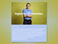 Agberto Guimarães   Professional Website   02