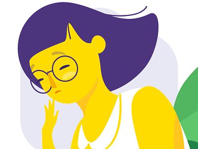 Rocket • Ori 🤖 💸 ori money illustration financial chatbot woman rocket bot banking bank banco original