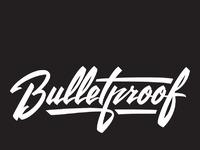 Bulletproof black dribbble