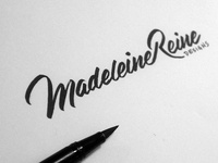 MRD logo sketch