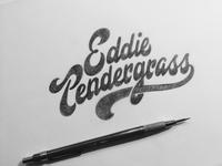 Eddie Pendergrass Sketch