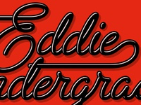Eddie Pendergrass Logotype Vectorizing Detail