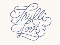 Trulli Love logotype sketch 1