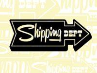 Lost Type Shipping Dept Stamp 2