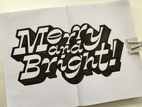 Merry and Bright Sketchbook