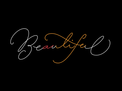"""""""a Beautiful life"""" in one word"""
