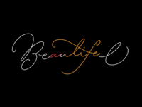 """a Beautiful life"" in one word"