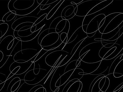 Script Capitals illustration lettering font typography type script
