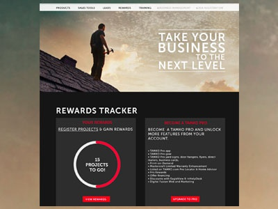 Dashboard Web Design web design rewards dashboard