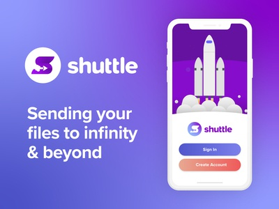 Daily UI 001 - Shuttle App Sign Up