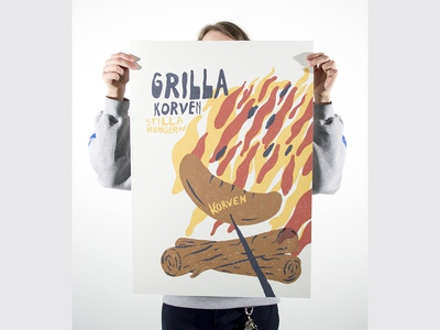 Grilla Korven Poster