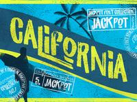 California Jackpot - Font