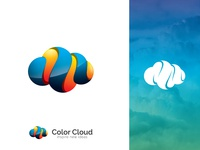 Color Cloud Logo Design