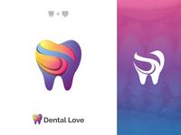 Dental Love Logo Design