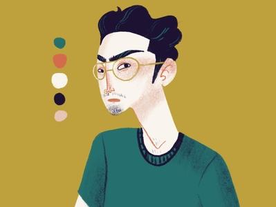 Palette Portrait